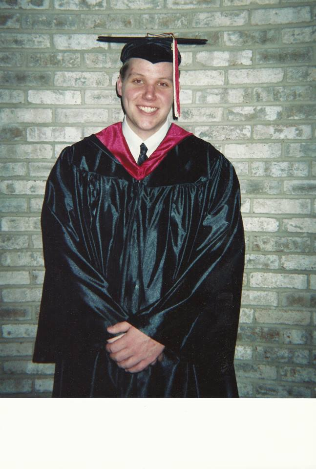 My first college graduation